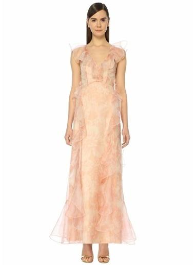 Alice Mccall Uzun Abiye Elbise Pembe